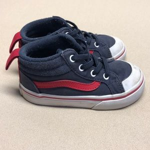 Vans toddler high top skate shoe